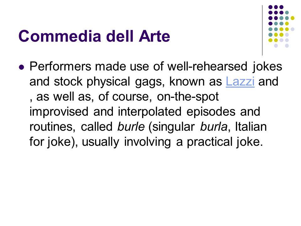 Commedia dell Arte Stock Characters Pantalone : Pantalone member of the vecchi.