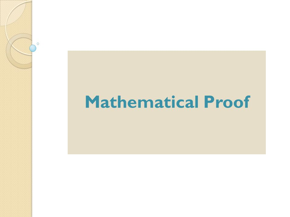 The Mathematical Approach In Math, theory has a very different meaning.