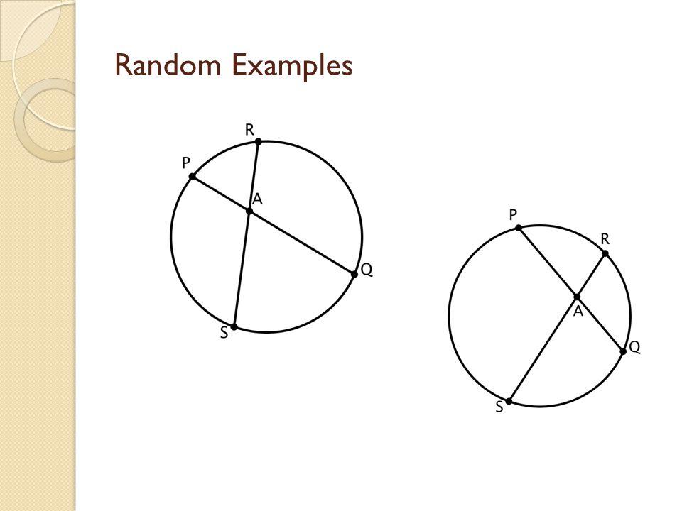 Random Examples