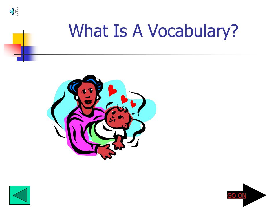 What Is A Vocabulary?