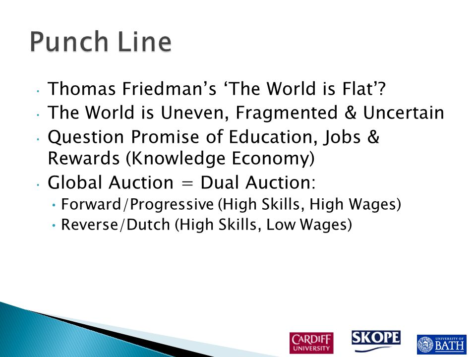  For many but not all graduates the Global Auction is a Dutch Auction.