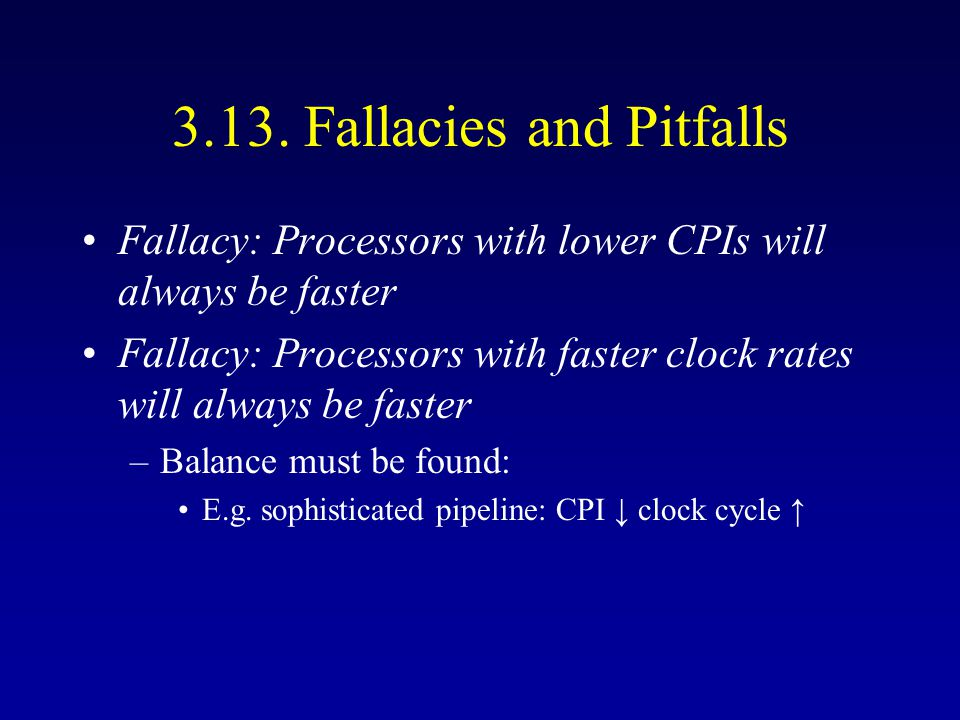 Superscalar Performance Two-issue MIPS (int + FP) 2.4 cycles per iteration –Unrolled five times