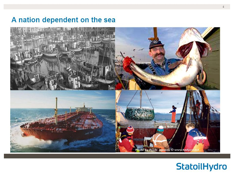 4 A nation dependent on the sea