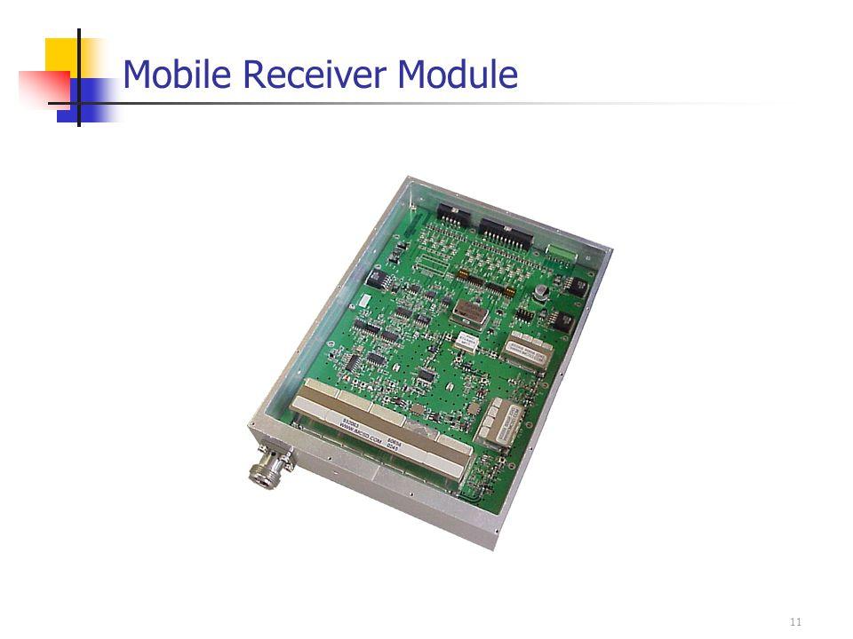 11 Mobile Receiver Module