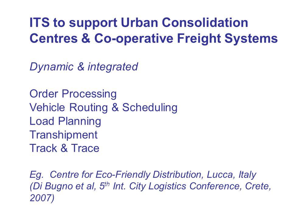 1 UCC with Pick-up Points (Kassel) Kolher & Groke, 2004