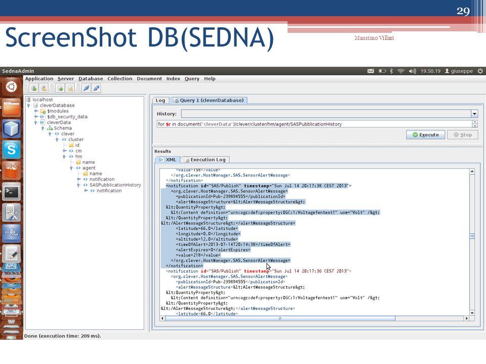 ScreenShot DB(SEDNA) 29 Massimo Villari