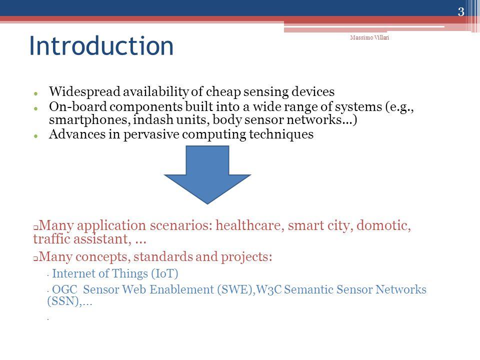 All in one VM: user=test pw=testpass XMPP Server (Ejabberd) Client XMPP (tkabber) XML-DB (SEDNA) CleverUnimeSens: ▫CleverCloud ▫CleverAdministration LAMP (PhpMyAdmin), ▫MySQL DB:  Virtual Sensor DB  SensorML DB (basis for CleverSens compliant SAS/SOS) SensoracquisitionGenerator 14 Massimo Villari