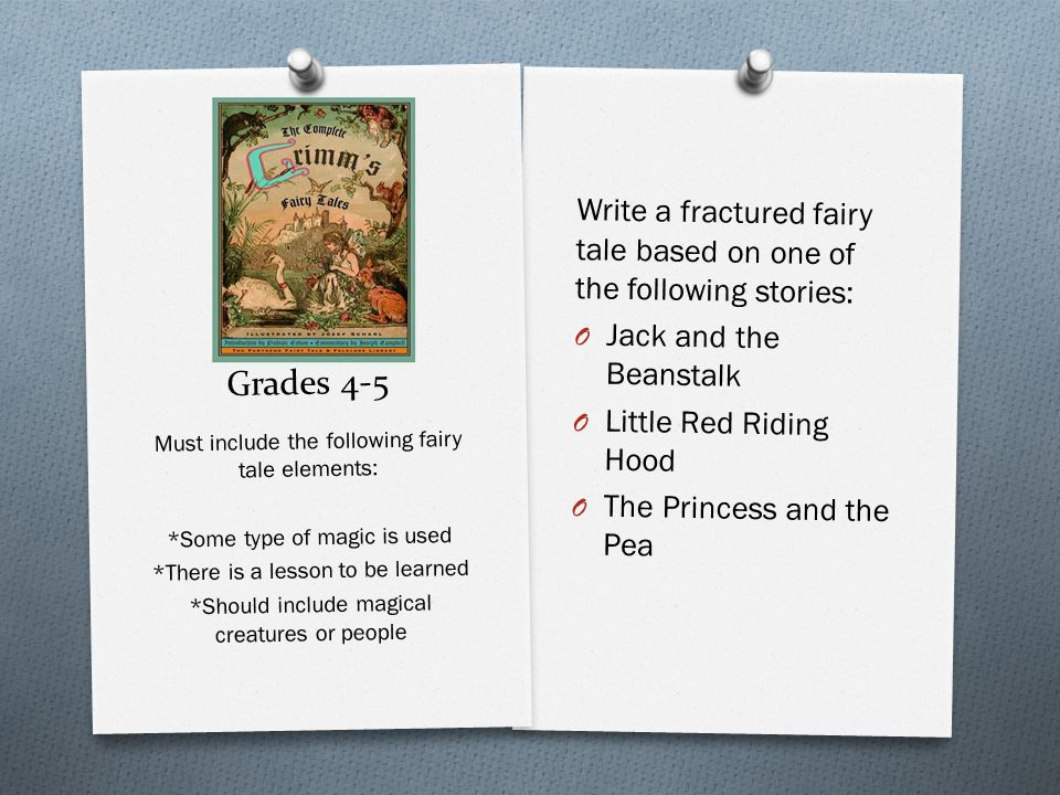 Grades 4-5 Writing guidelines: O Word Choice: words and sentences that promote show, not tell O Voice: clever voice shines throughout the writing.