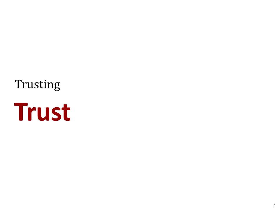 Trust Trusting 7