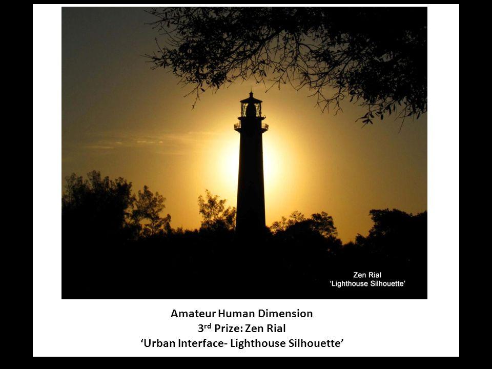 Amateur Human Dimension 3 rd Prize: Zen Rial 'Urban Interface- Lighthouse Silhouette'