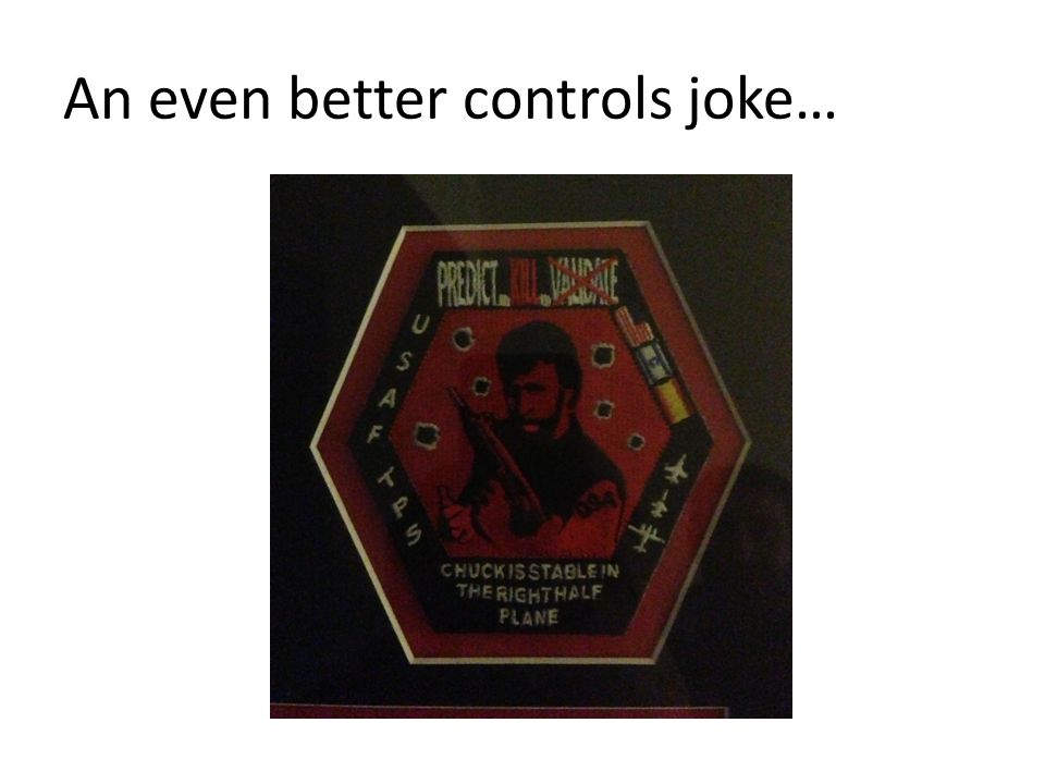 An even better controls joke…