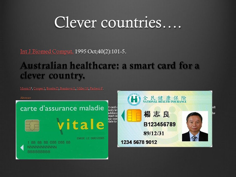 Clever countries…. Int J Biomed Comput.Int J Biomed Comput.