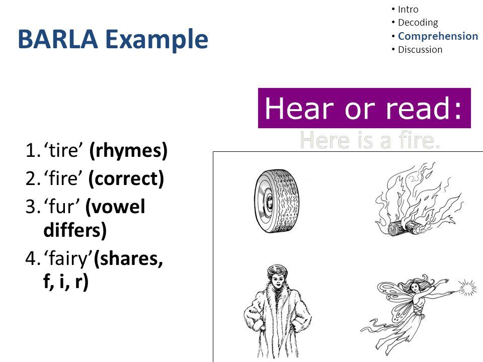 BARLA Example 1.