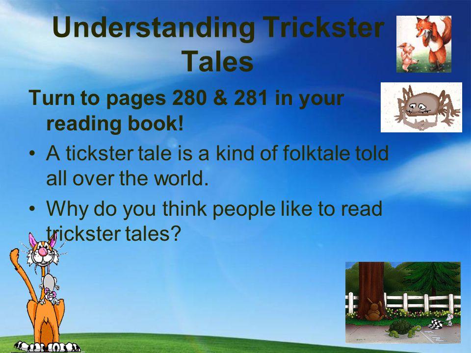 Understanding Trickster Tales Practice Book pg. 178