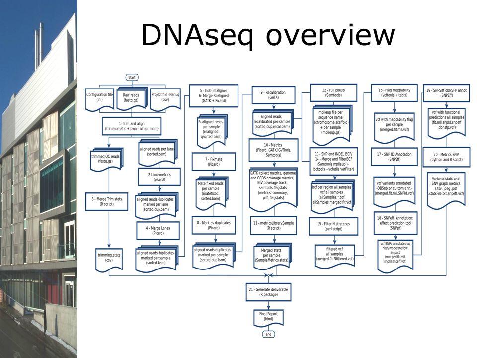 DNAseq overview