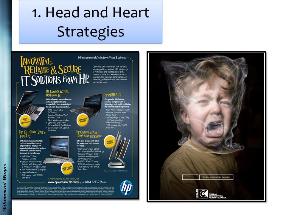 Muhammad Waqas 1. Head and Heart Strategies