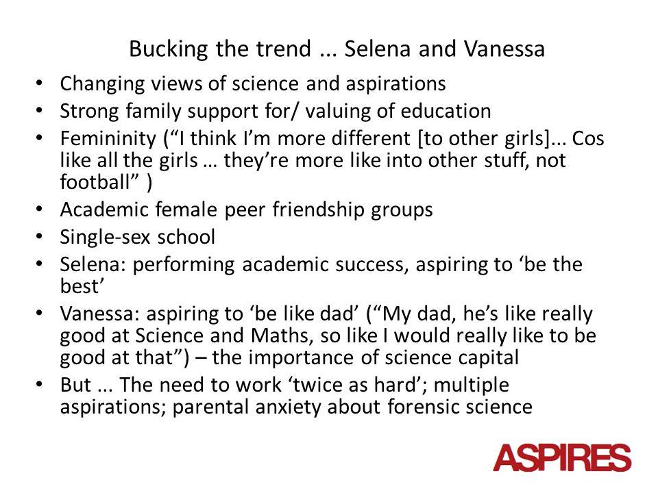 Bucking the trend...