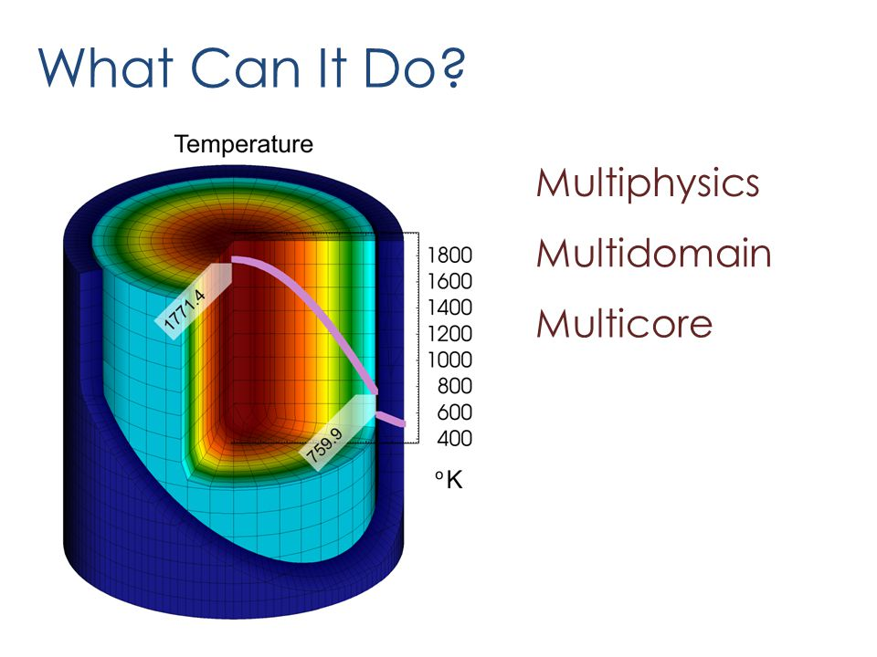 What Can It Do Multiphysics Multidomain Multicore