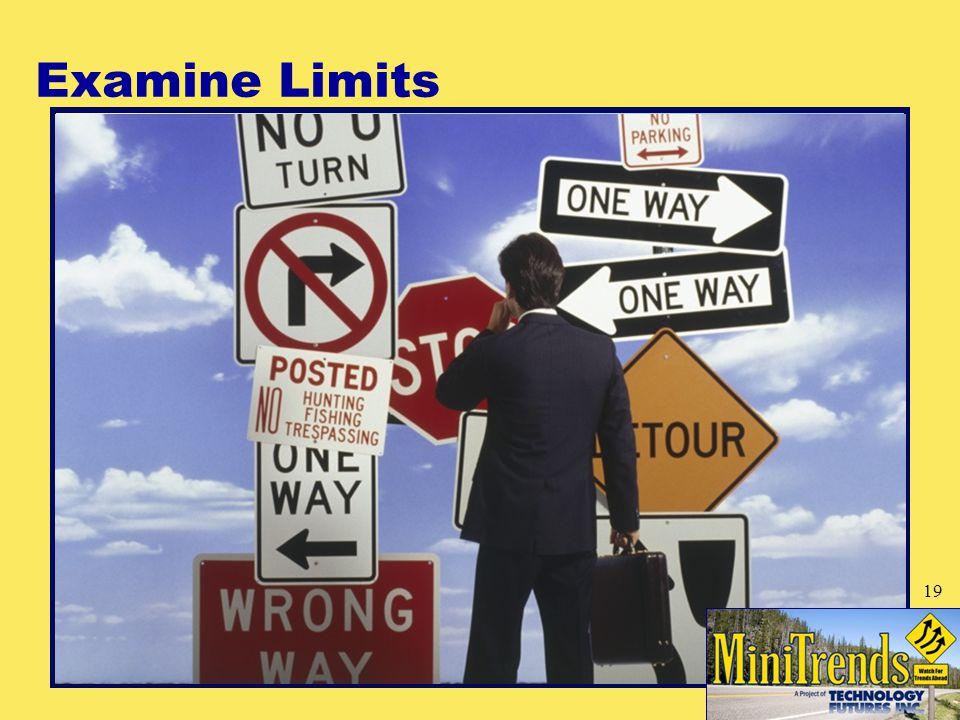 Examine Limits 19