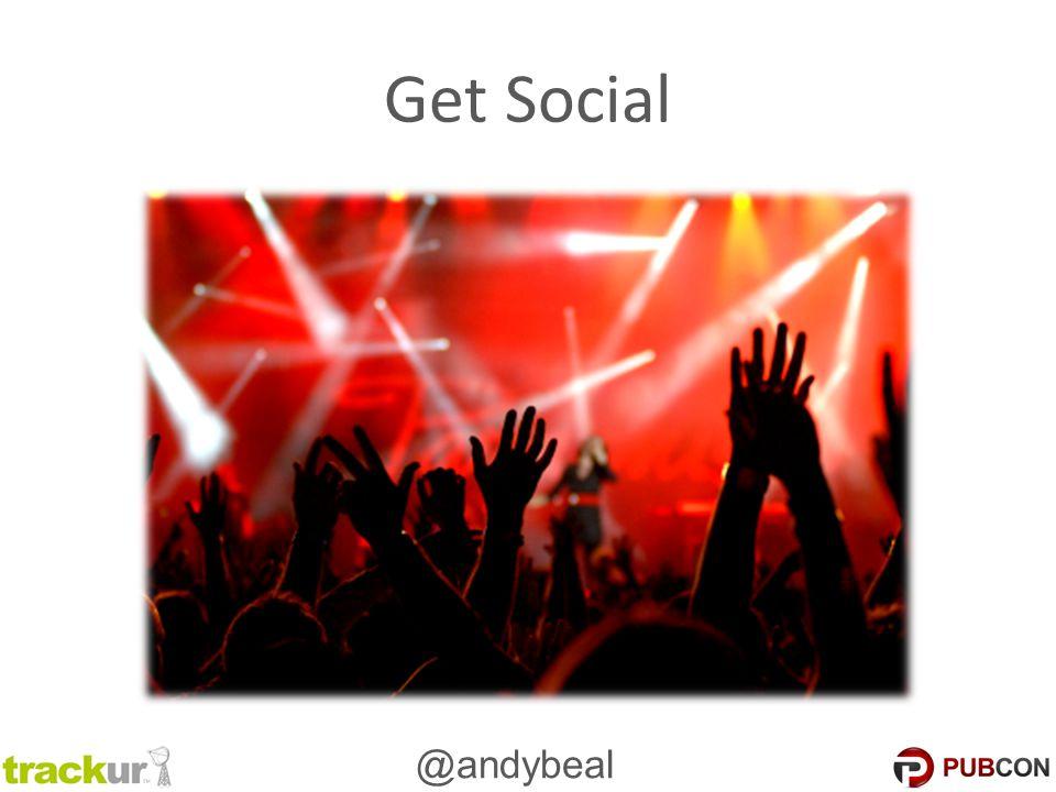 @andybeal Get Social
