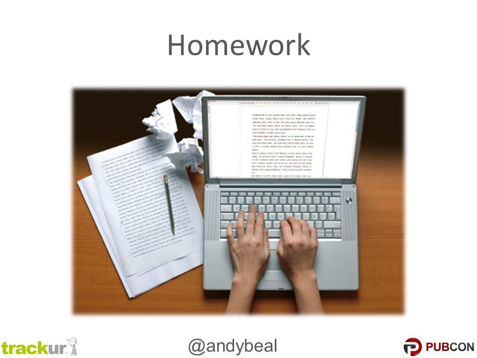 @andybeal Homework
