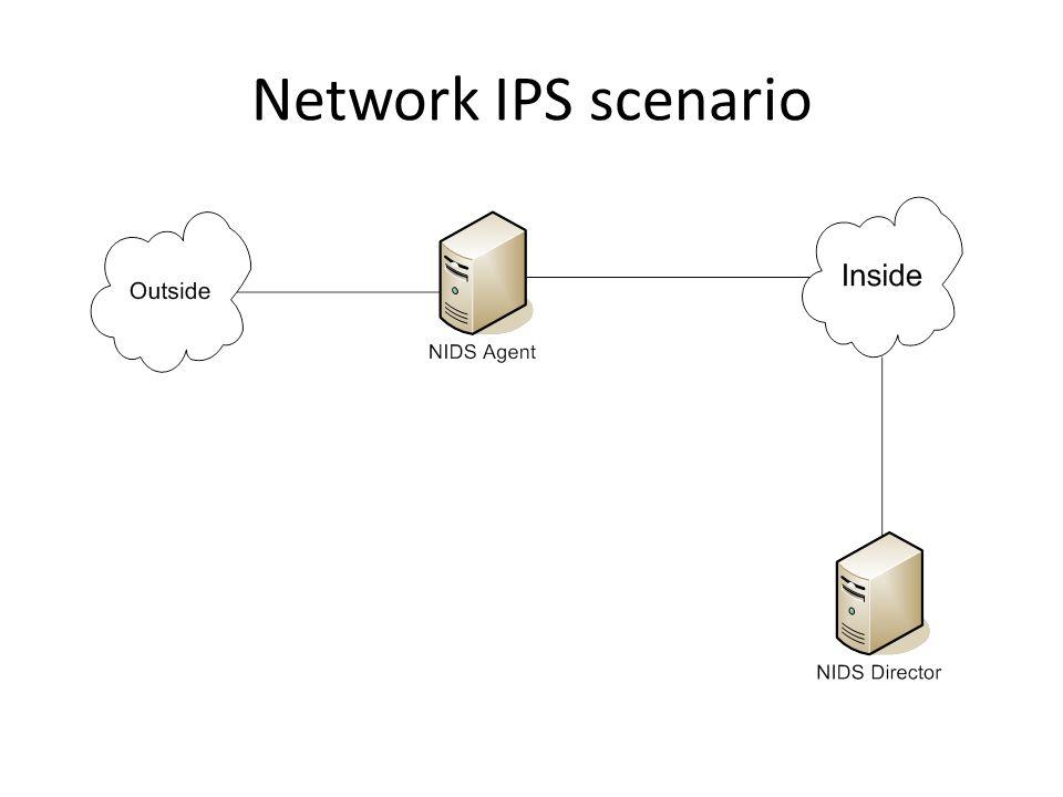 Network IPS scenario