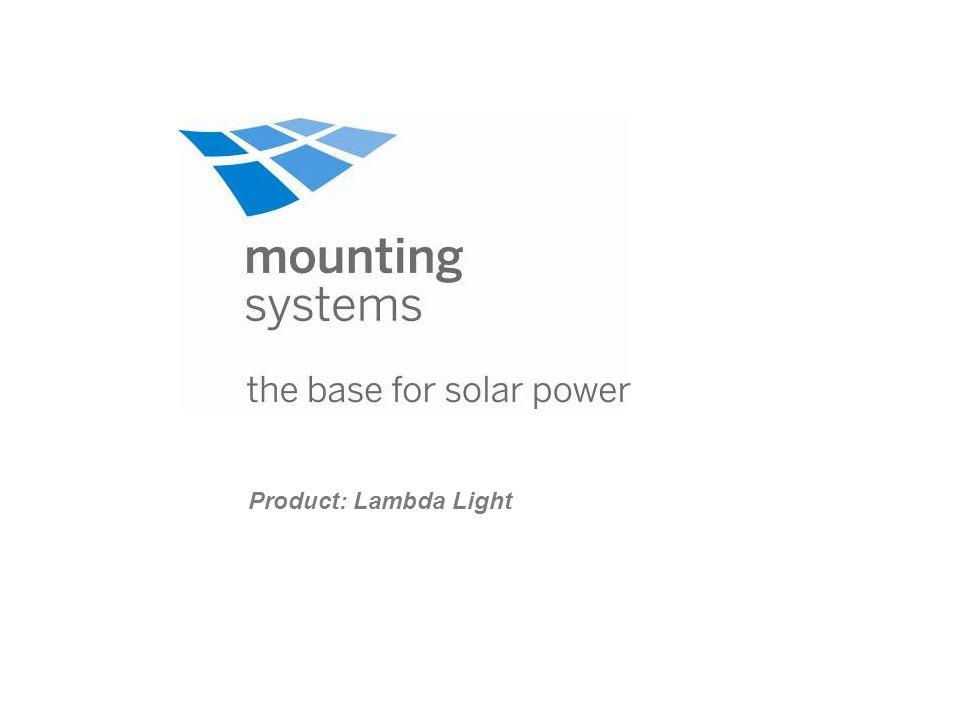 Product: Lambda Light