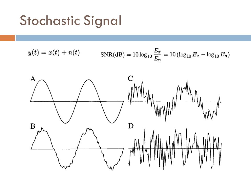 Stochastic Signal