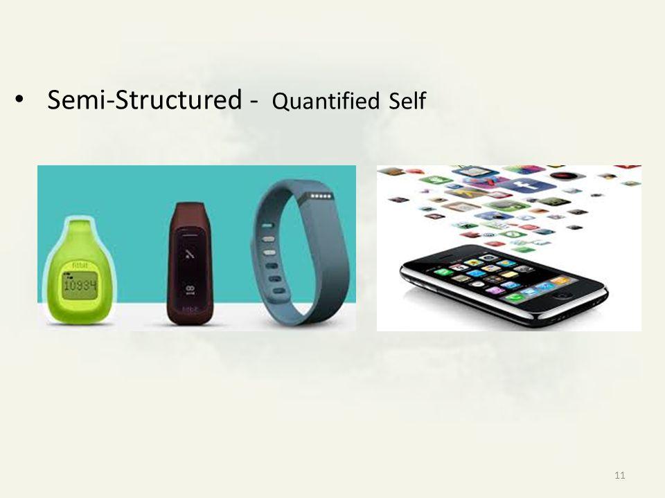Semi-Structured - Quantified Self 11