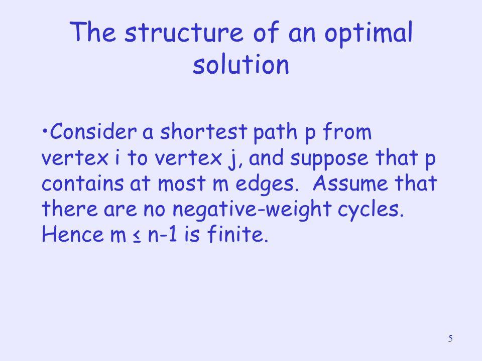26 TRANSITIVE-CLOSURE(G) 1n = |G.V| 2Let T (0) = (t ij (0) ) be a new n x n matrix 3 for i = 1 to n 4 for j =1 to n 5 if i == j or (i, j) ∈ G.E 6 t ij (0) = 1 7 else t ij (0) = 0 8for k =1 to n 9 Let T (k) = (t ij (k) ) be a new n x n matrix 10 for i = 1 to n 11 for j =1 to n 12 t ij (k) = t ij (k-1)  (t ik (k-1)  t kj (k-1) ) 123 return T (n) Time complexity: O(n 3 )