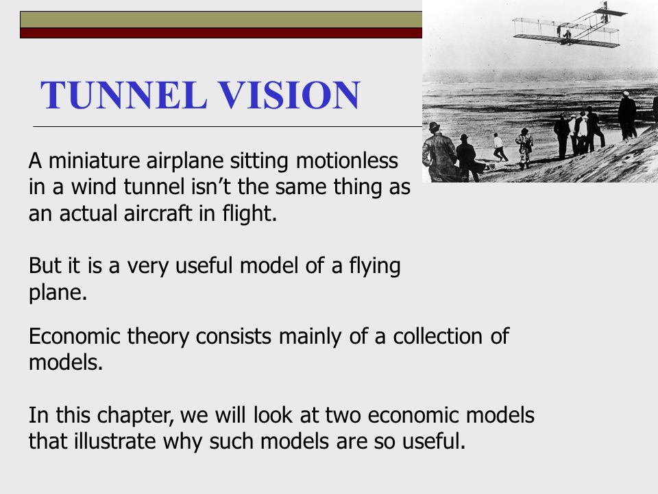 TUNNEL VISION A miniature airplane sitting motionless in a wind tunnel isn't the same thing as an actual aircraft in flight. But it is a very useful m