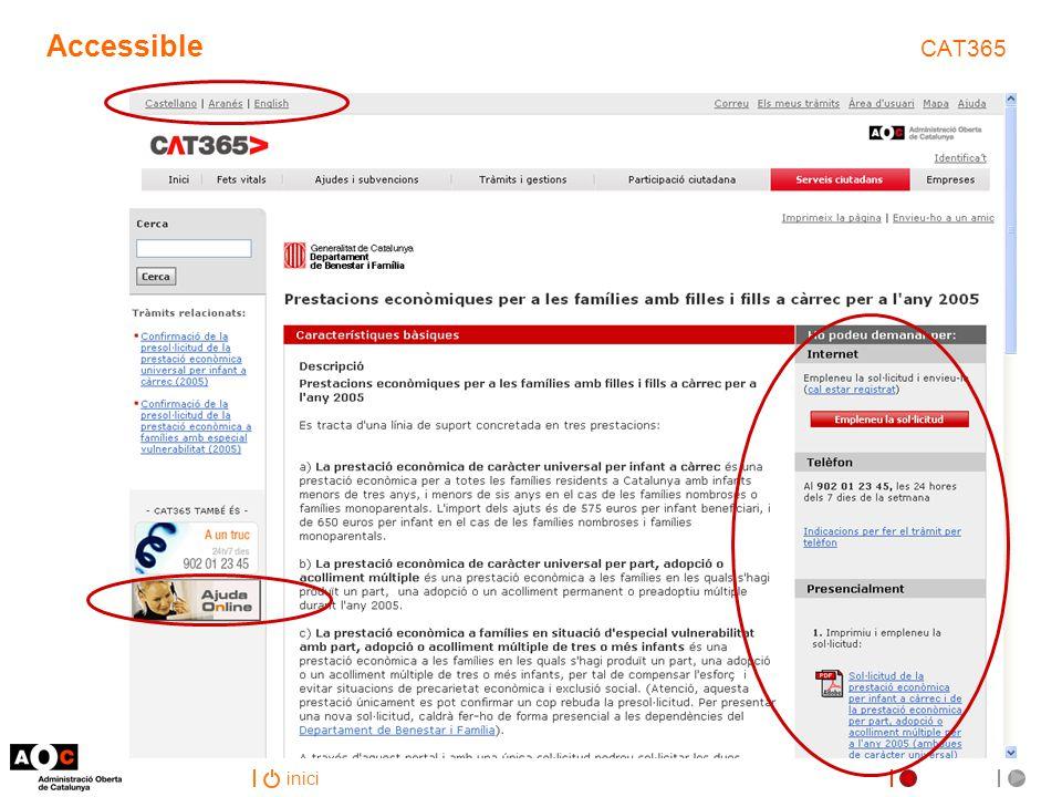 inici Accessible CAT365