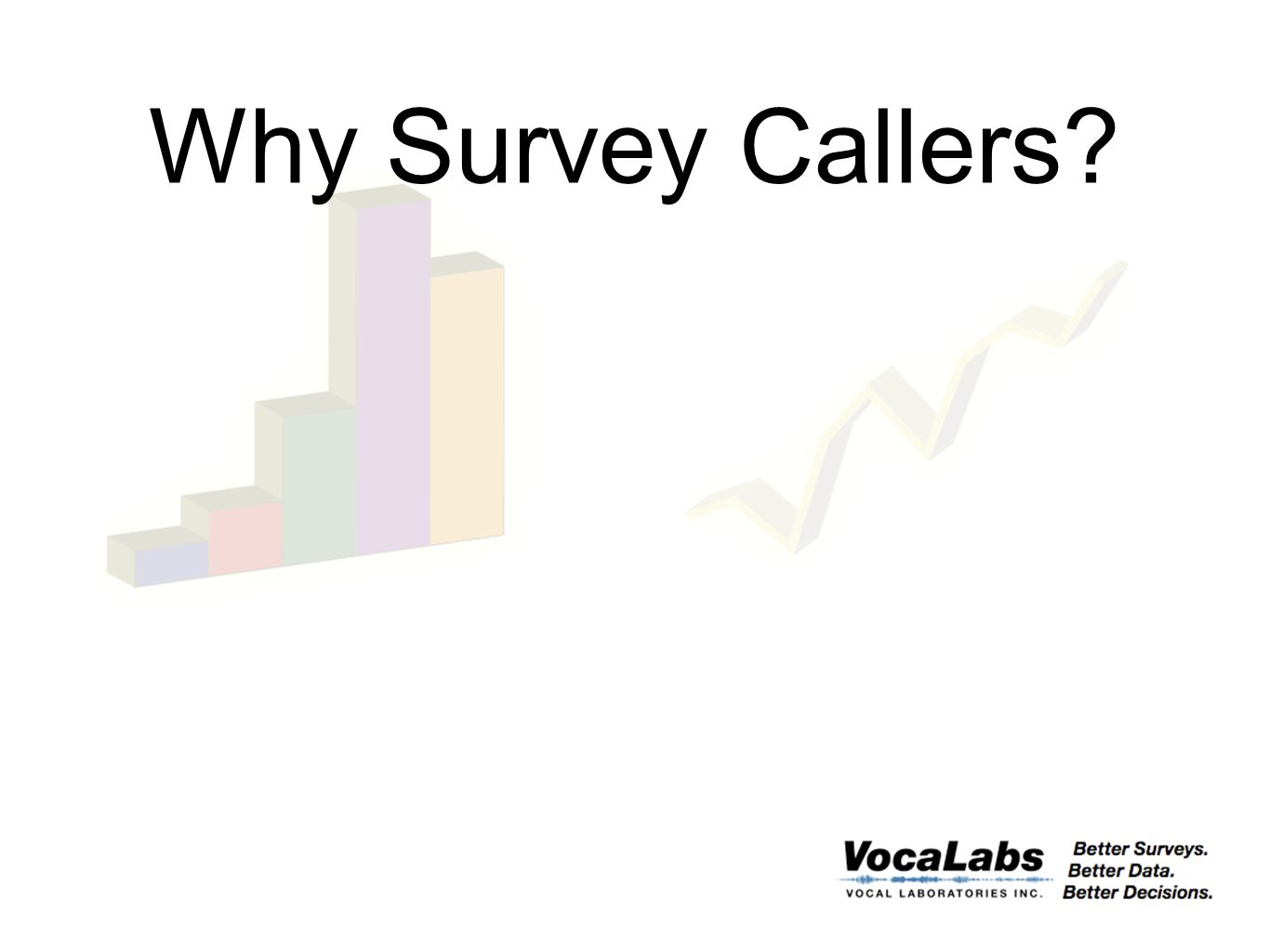 Why Survey Callers