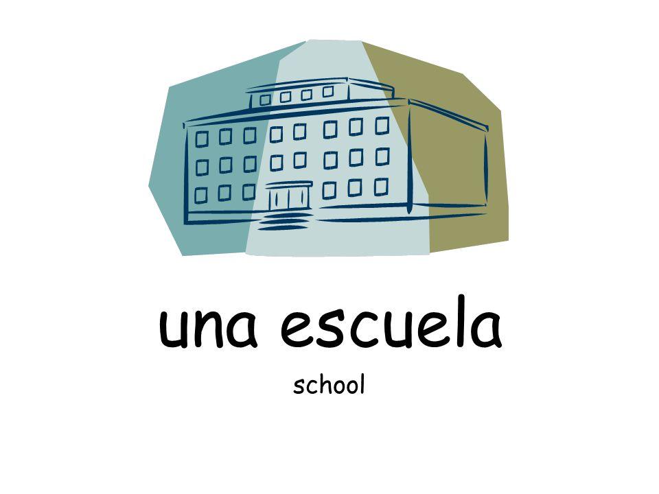 una escuela school