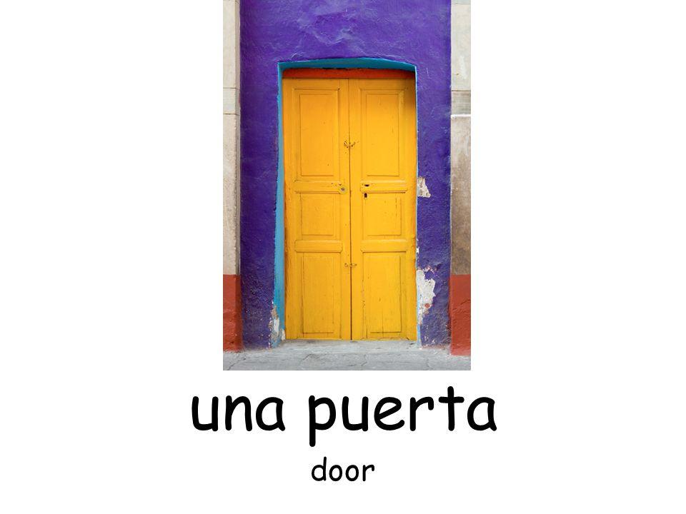 una puerta door
