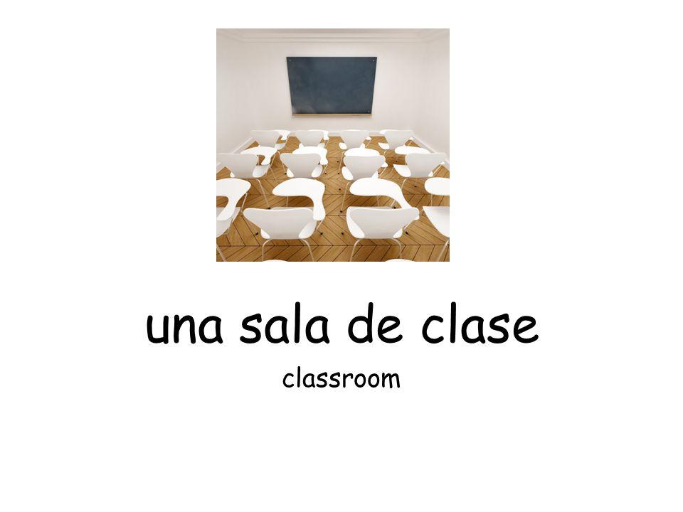 una sala de clase classroom