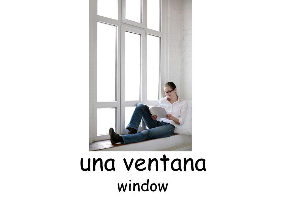 una ventana window