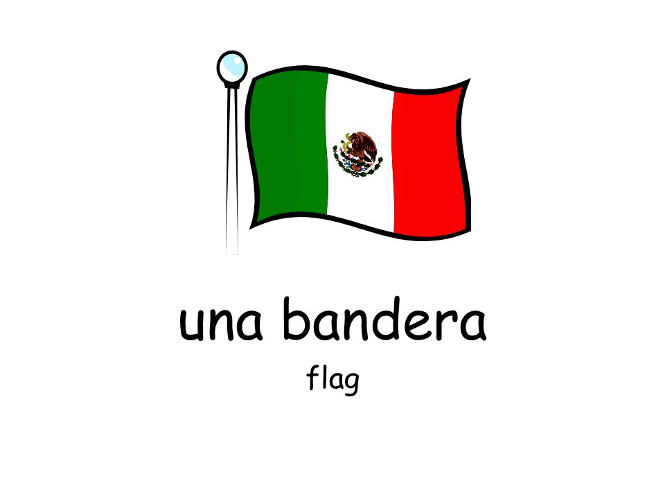 una bandera flag