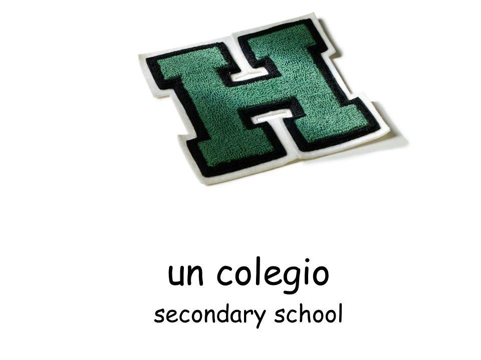 un colegio secondary school