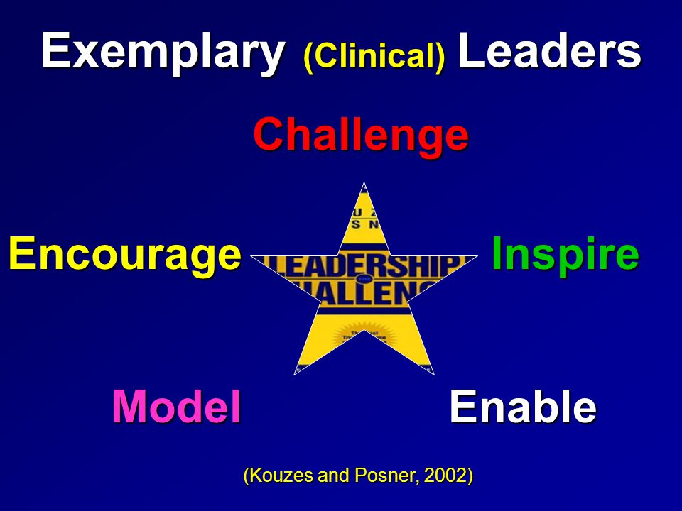 Exemplary Clinical Leaders Model