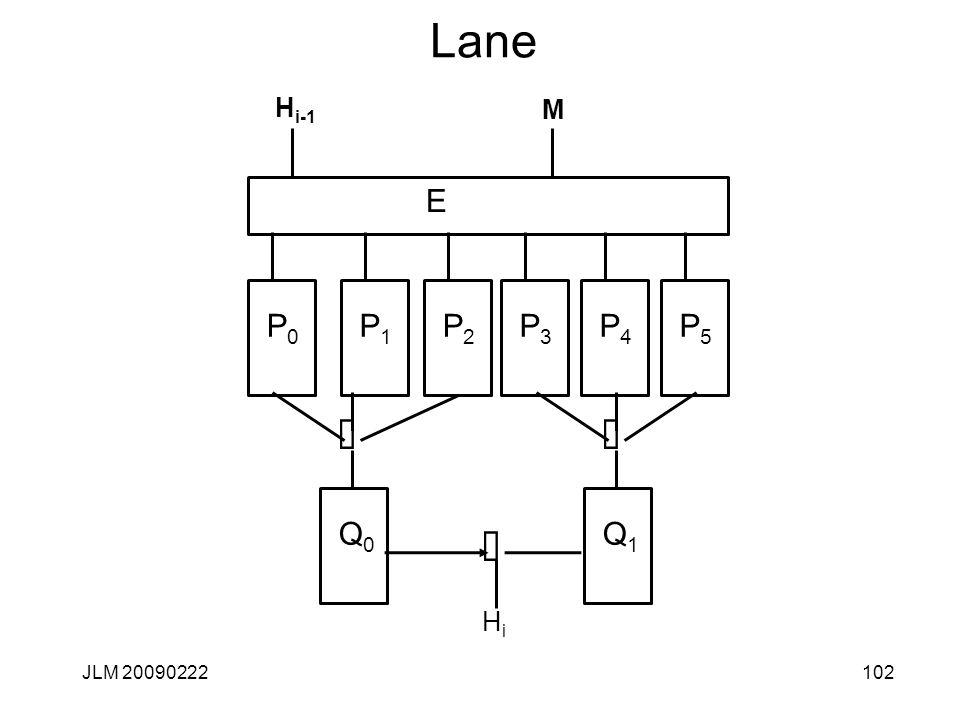 Lane 102JLM 20090222 H i-1 E Å HiHi P0P0 M P1P1 P2P2 P3P3 P4P4 P5P5 Q1Q1 Å Q0Q0 Å