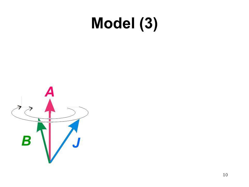 10 Model (3) A B J