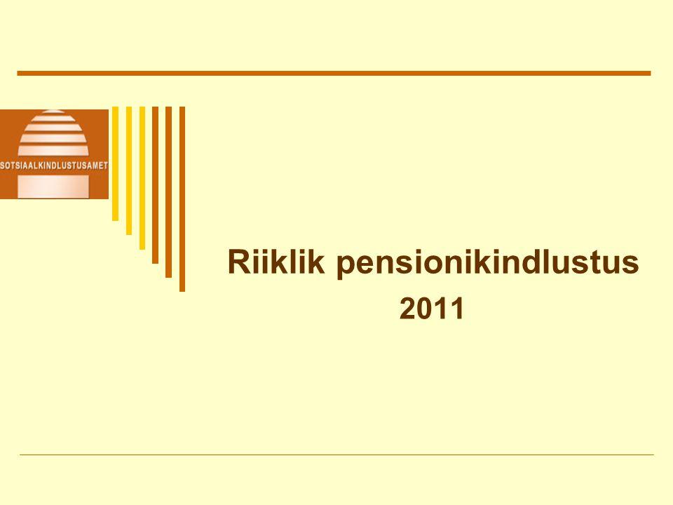 Riiklik pensionikindlustus 2011