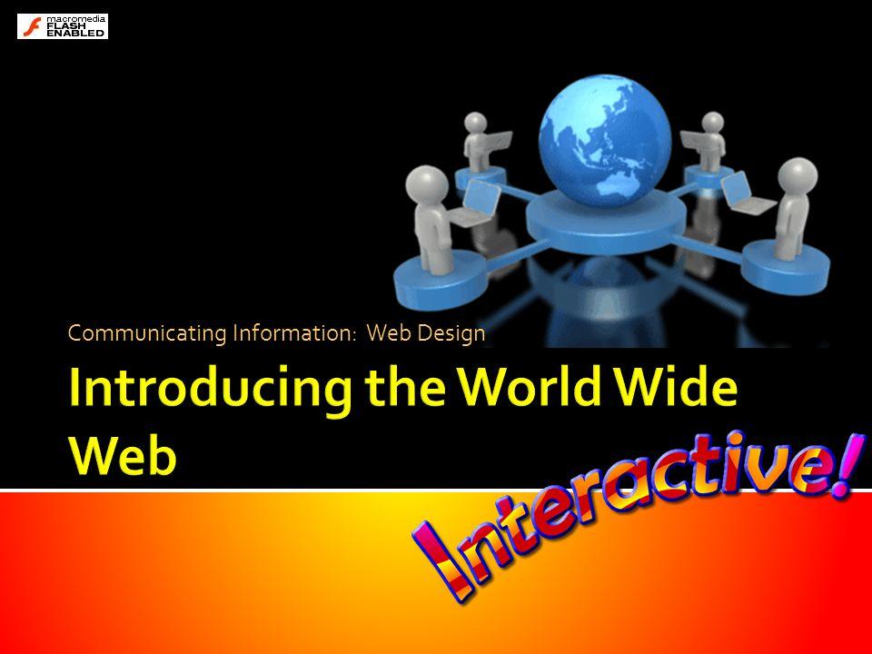 Communicating Information: Web Design