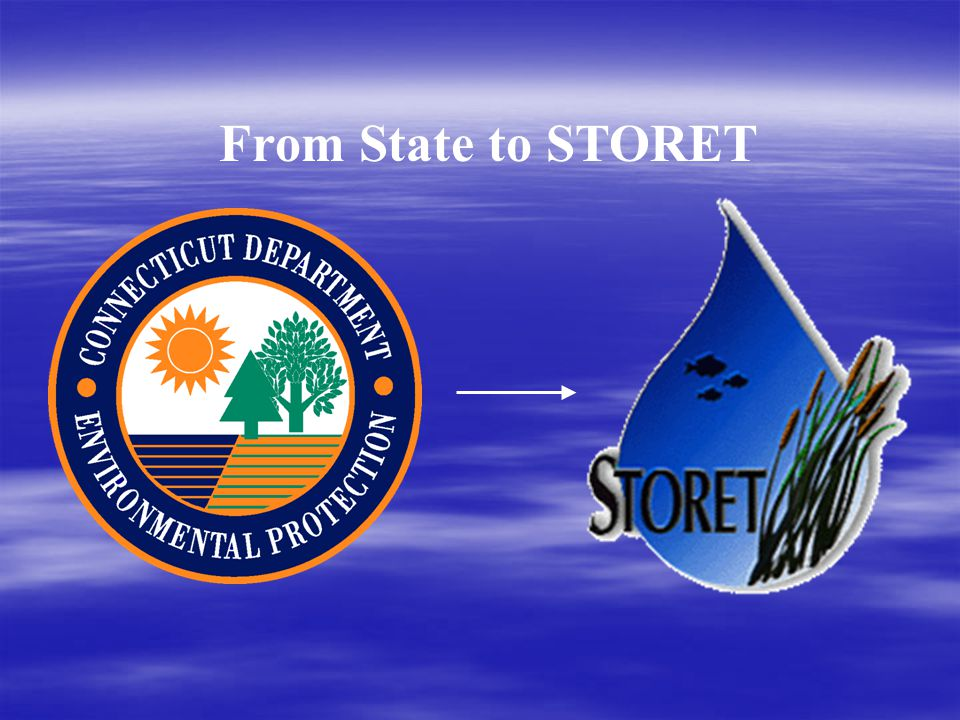 From State to STORET