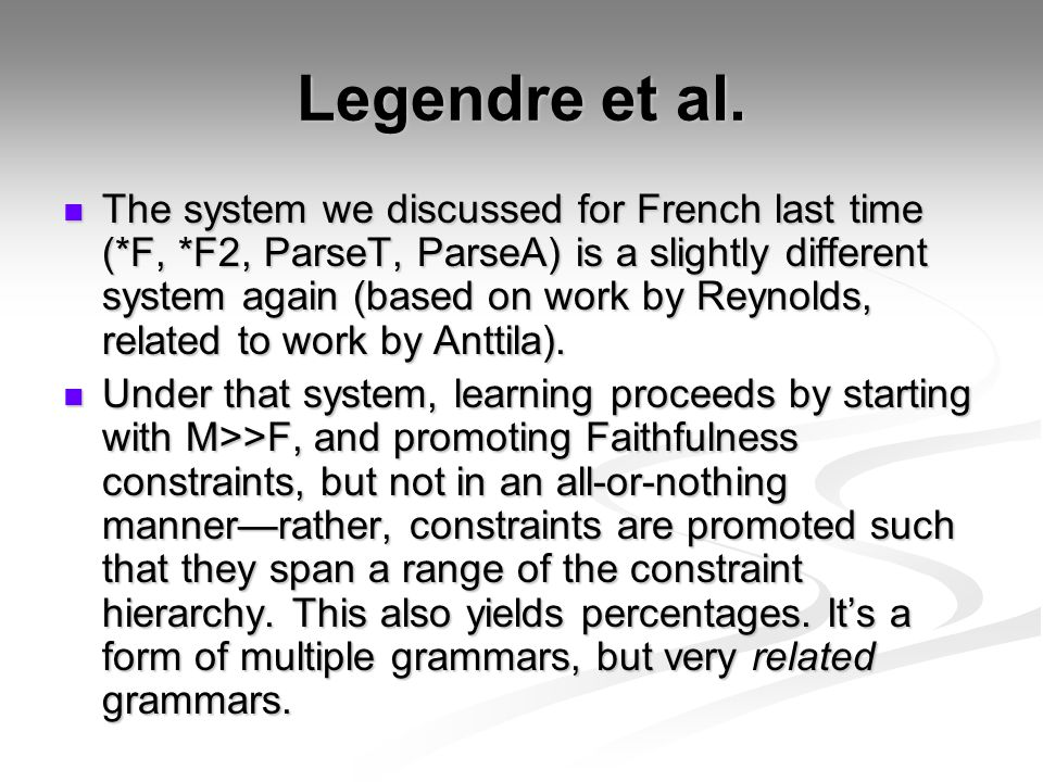 Legendre et al.