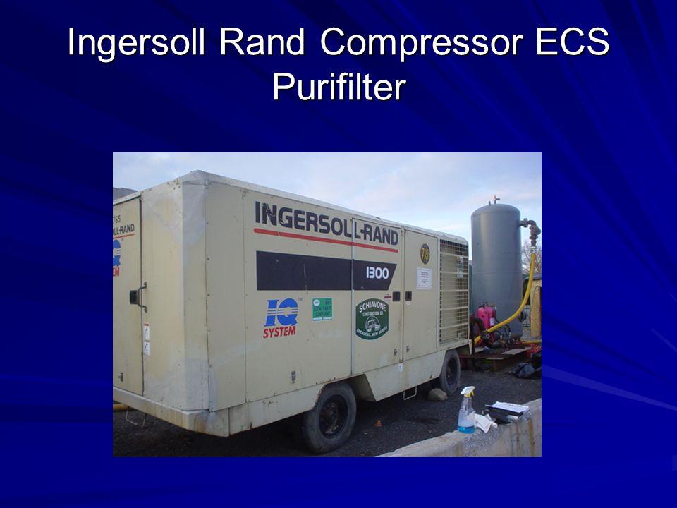 Ingersoll Rand Compressor ECS Purifilter