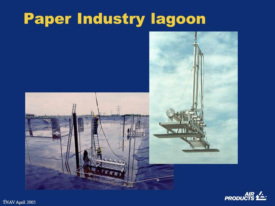 7 TNAV April 2005 Paper Industry lagoon