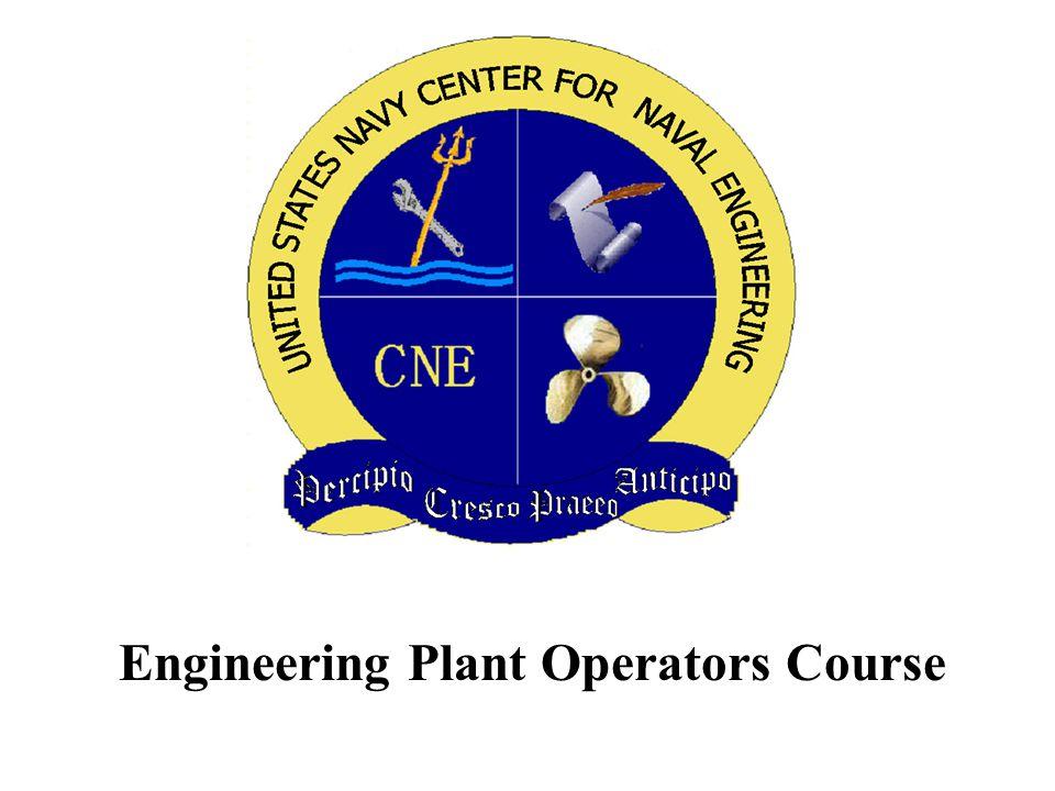 Engineering Plant Operators Course
