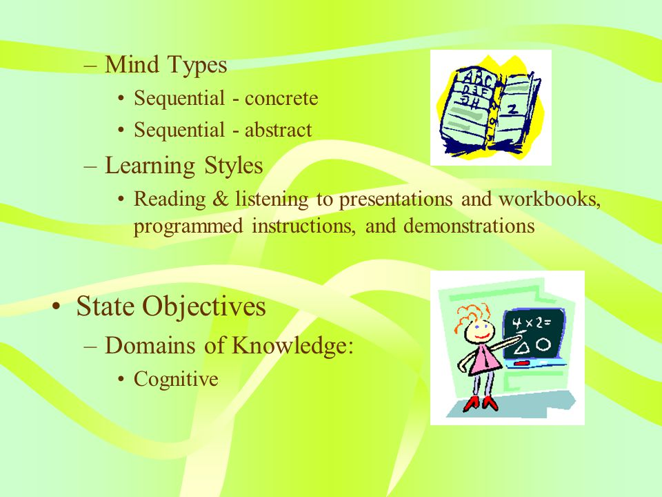 ASSURE Model Analyze Learners –Background of Learners A class of 31 P.6 students (boys & girls around 11 years old) –Learning Attitude Not very interested in English –Students' Prior Knowledge The whole class has learnt Simple Present & Simple Past tenses